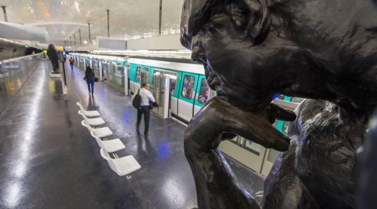 Un musée dans le métro