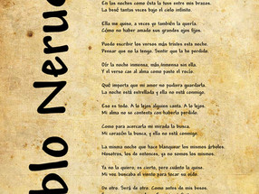 """Confieso que he vivido"" Pablo Neruda, poeta universal."