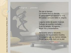 Alegría..., Poema