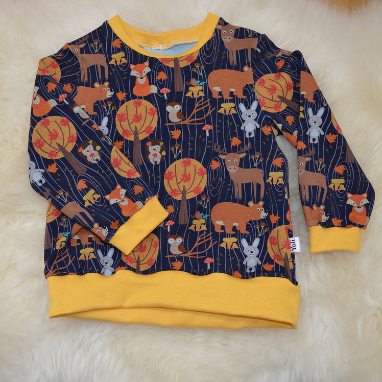 Pullover Waldtiere