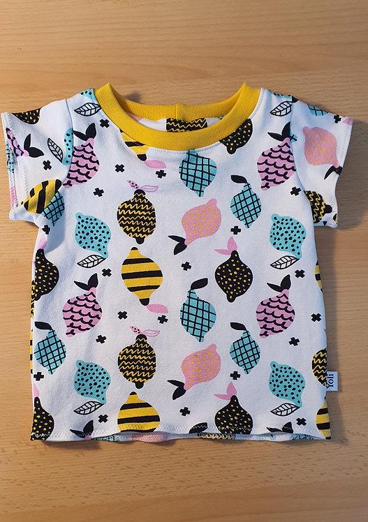 T-Shirt bunte Zitronen
