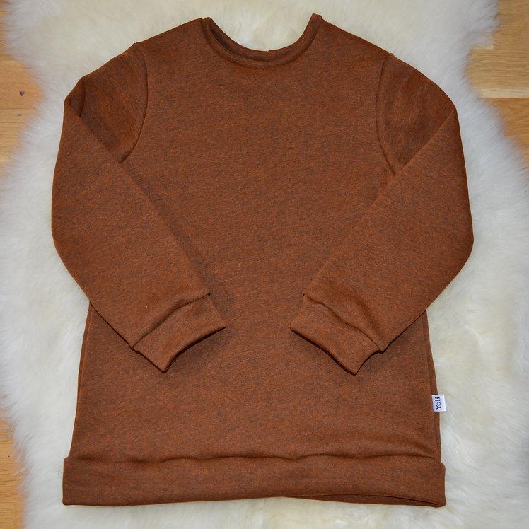 Kuscheliger Pullover karamell-braun