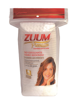 Zuum Supreme pads exfoliante 50 pzas.