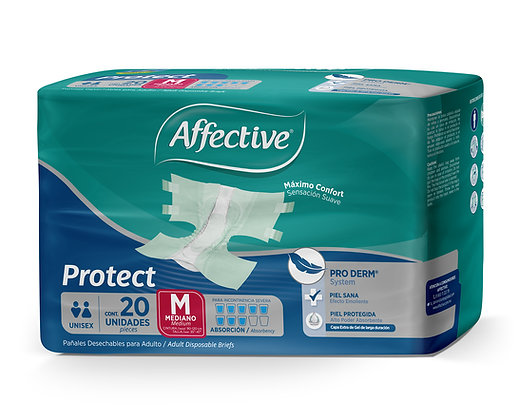 Affective Protect Mediano 20 pzas.