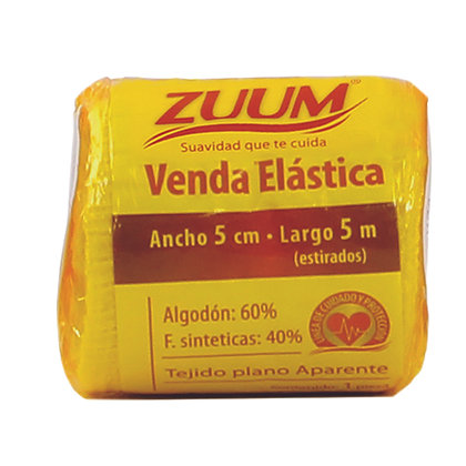 Zuum Venda Elástica 5 cms.  * 5 mts.