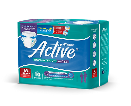Affective Active Mediano 10 pzas.