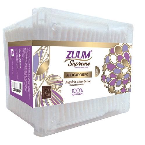 Zuum Supreme aplicador caja 300 pzas.