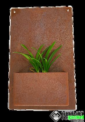 Rectangle wall planter
