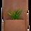 Thumbnail: Rectangle wall planter
