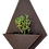 Thumbnail: Diamond wall planter