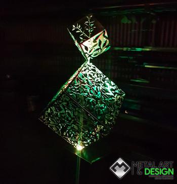 Custom cubes sculpture