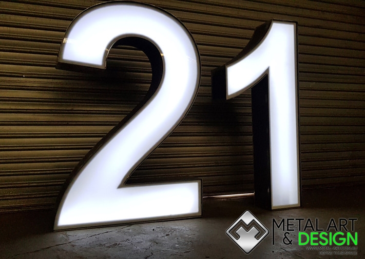 21 3D numbers