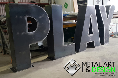 Play 3D letters