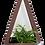 Thumbnail: Diamond hanging planter