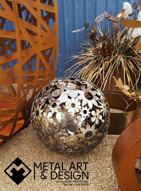 Flowers sphere #2