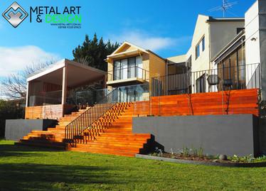 custom-metal-flat-bar-balustrade-powder-