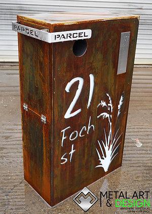 Parcel Modern Letterbox