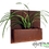 Thumbnail: Square wall planter