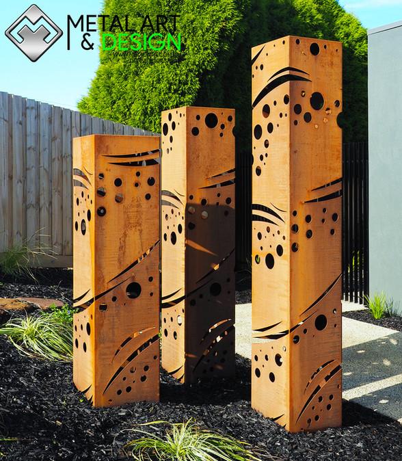 Corten Columns