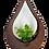 Thumbnail: Teardrop hanging planter