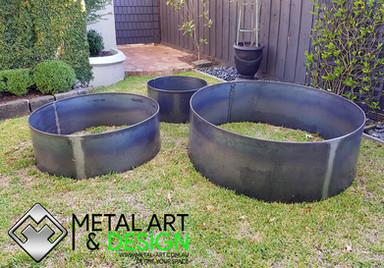 Corten Garden ring