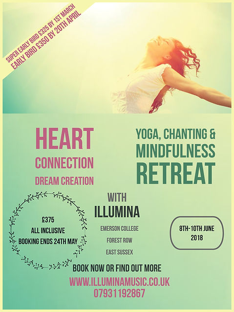 Illumina retreat 2017 yoga and chanting weekend