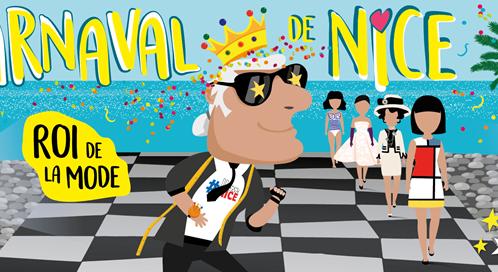 "YOUNG NICOISES E NICOIS, REGINE E RE DEL ""CARNEVAL DE NICE 2020"""