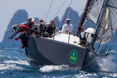 Rolex Capri Sailing Week, tra i Farr 40 in testa i tedeschi di Struntje Light