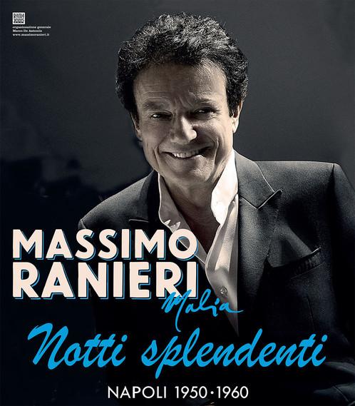 MASSIMO RANIERI IN SCENA ALL'AUGUSTEO