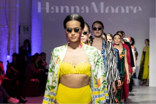 "HANNA MOORE MILANO FASHION WEEK EXPERIENCE ""BE UP TOMORROW IS NOW"""