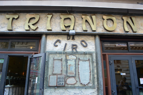 Trianon non solo . . . PIZZA !