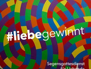 #liebe gewinnt – Segnungsgottesdienst für alle Liebenden