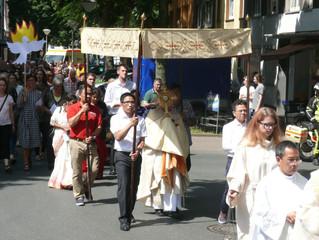 Einladung zur Feier des Fronleichnamfestes
