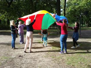 Familienpicknick im Fredenbaumpark