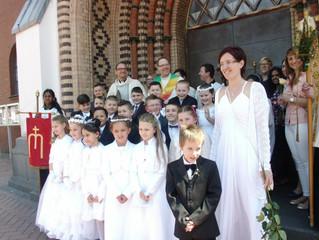 Erstkommunionfeier 2016
