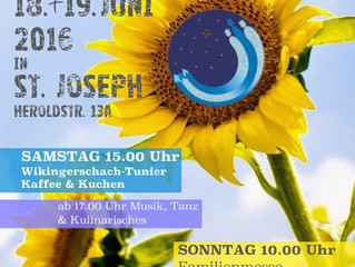 Gemeindefest am 18.06. / 19.06.2016