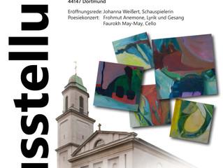 Ausstellungseröffnung in St. Gertrudis