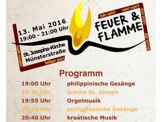 Feuer & Flamme in der Josephskirche
