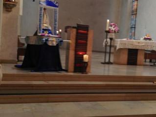 Prozession zum Fest Mariä Geburt