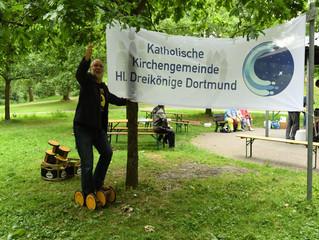 Familienpicknick im Fredenbaum