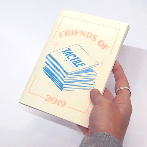 'Friends of Tactile'- Tactile Exhibition Catalogue 2019