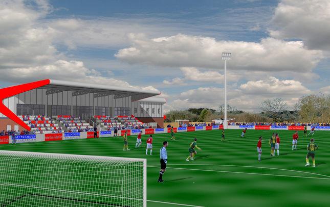 Stadium Concept - Harlow Town FC