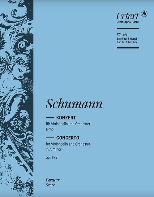 Violoncellokonzert a-moll op. 129