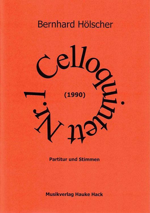 Hölscher: Celloquintett Nr.1 (1990)