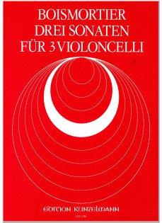 Boismortier: 3 Sonaten für 3 Violoncelli