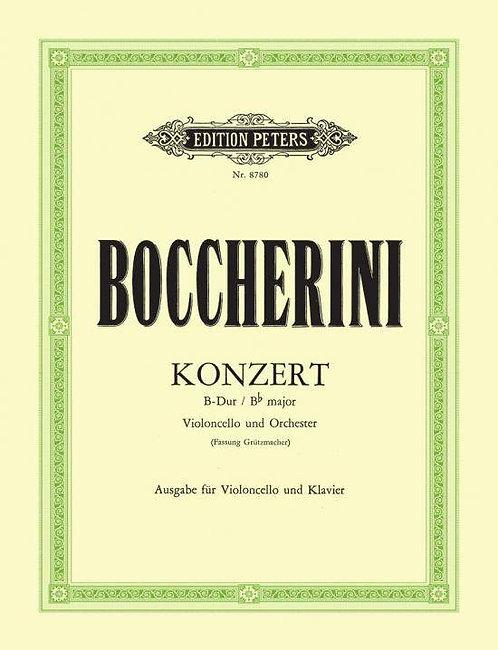 Boccherini: Konzert für Violoncello und Orchester B-Dur