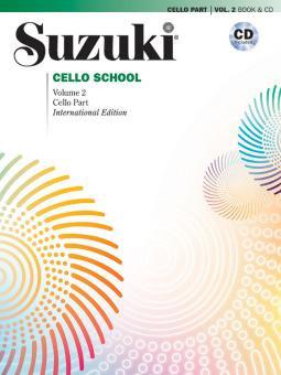 Suzuki Cello School Vol. 2 (mit CD)