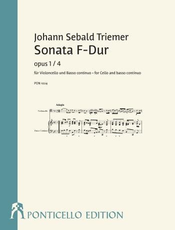 Triemer: Sonata F-Dur op. 1/4