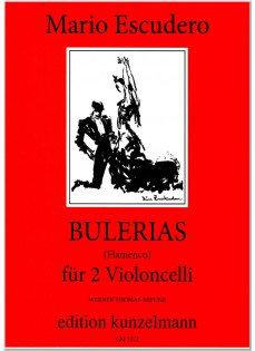 Escudero: Bulerias (Flamenco) für 2 Violoncelli