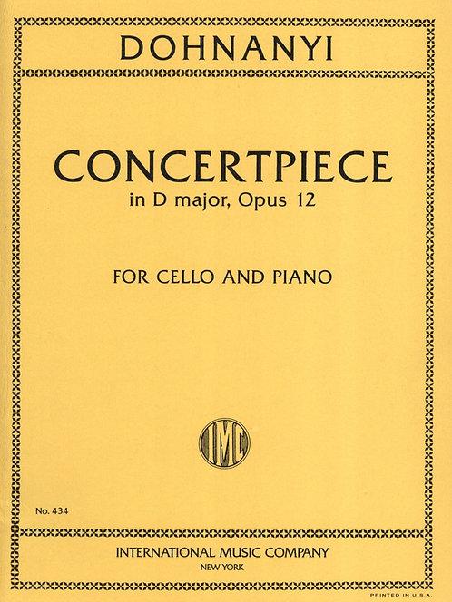 Dohanyi: Concertpiece in D major op. 12